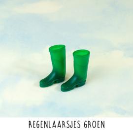 Regenlaarsjes groen
