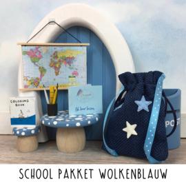 School Pakket Wolkenblauw
