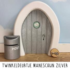 Twinkeldeurtje Maneschijn Zilver