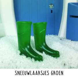 Sneeuwlaarsjes groen