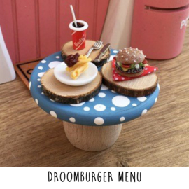 Droomburger menu