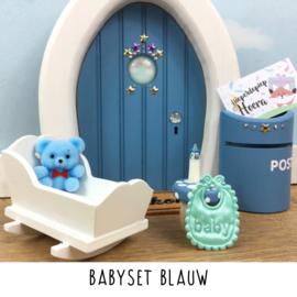 Babyset Blauw