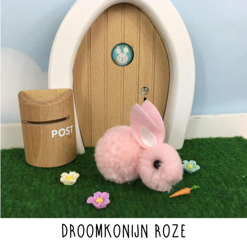 Droomkonijn roze