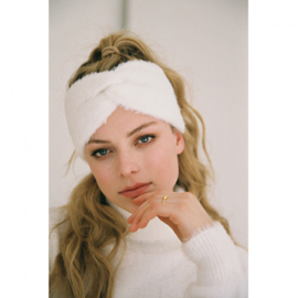 CATWALK JUNKIE - HEADBAND FUZZY - WHITE