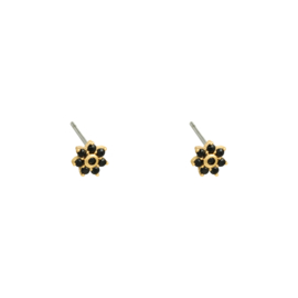 EARRING - MINI FLOWER - GOLD