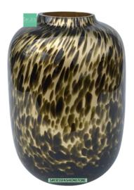 ARTIC CHEETAH M - GOLD - Ø21 X H29 cm
