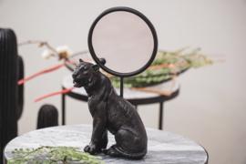 MIRROR LION - BLACK