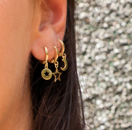 EARRING - GALAXY STAR - GOLD