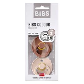 BIBS FOPSPEEN T2- WOODCHUCK & BLUSH