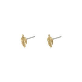 EARRING - LITTLE LEAF - GOLD