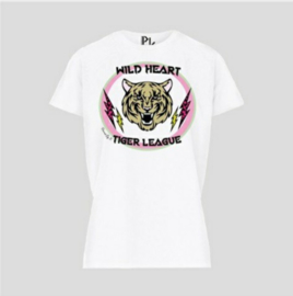 TEE - TIGER LEAUGE - WHITE