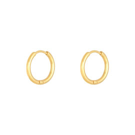 EARRING - LITTLE HOOPS - GOLD