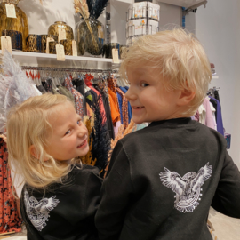 KIDS SWEATER - PROVE THEM WRONG BABE - ZWART