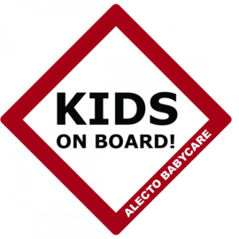 ALECTO - KIDS ON BOARD SIGN