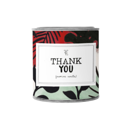 THE GIFT LABEL - GEUR KAARS VANILLA 310GR - THANK YOU