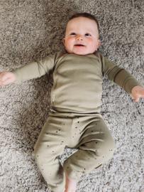 NEW BORN - LEGGING DOTS - SPONGE