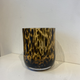 CANDLE HOLDER CHEETAH - H9