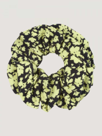 SCRUNCHIE - LIME FLOWERS