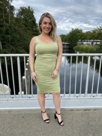 LILY DRESS - SAGE GREEN