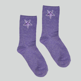 SOCKS - STAR - LILA