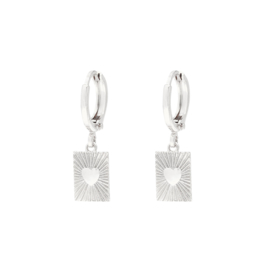 EARRING - SHOW ME LOVE - SILVER