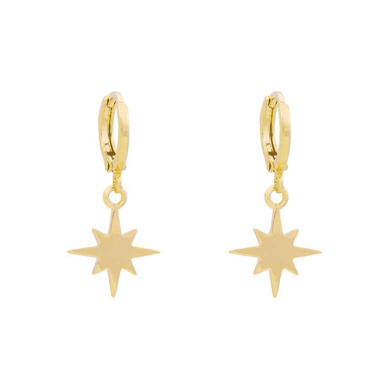EARRING - UNIVERSE STAR - GOLD