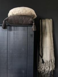 GOROUND INTERIOR | vloerkussen CROCHET off white