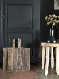 Hapjesplank/broodplank | oud hout vierkant