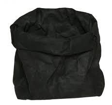 ESSENT'IAL | wasbare paperbag M ZWART