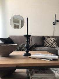 GOROUND INTERIOR | kussen SLUB donkerbruin