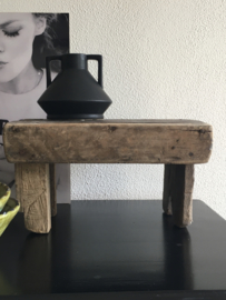 Vensterbank krukje groot | oud hout