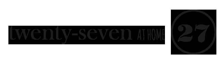 Twenty-Seven AT HOME