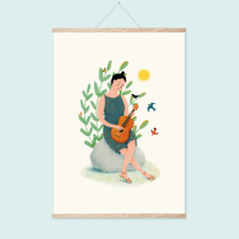 Poster A3 | Singing with the birds