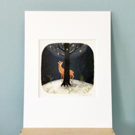 Artprint   Midwinterboom