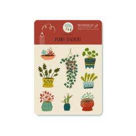Stickervel | Plantjes