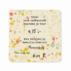 Illu-ster gift voucher from: