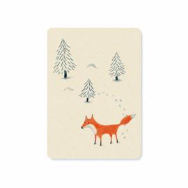 Kerstkaart | Fox
