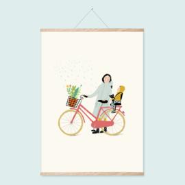 Poster A4 | Bike ride