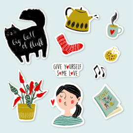 Stickerset | Snuggle up