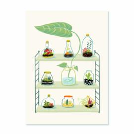 Miniprint   Groene wereldjes