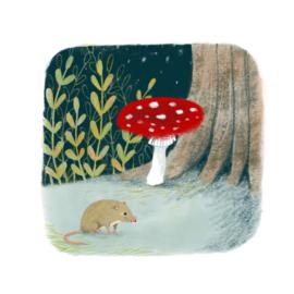 Artprint   Kleine muis