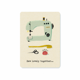 Postcard | Sew lovely together