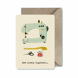 Kaart | Sew lovely together