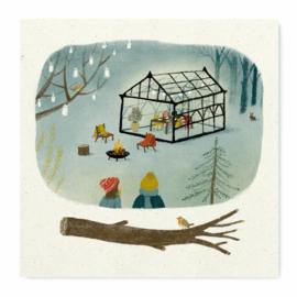 Artprint | Winter greenhouse