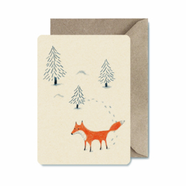 Christmas card Illu-ster | Fox