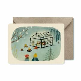 Winterkaart | Outdoor winter festival