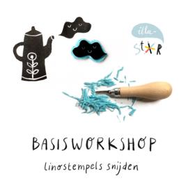 BASISWORKSHOP LINOSTEMPELS SNIJDEN 18 DECEMBER