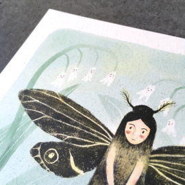 Artprint | Moth fairy