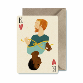Postcard | King of hearts