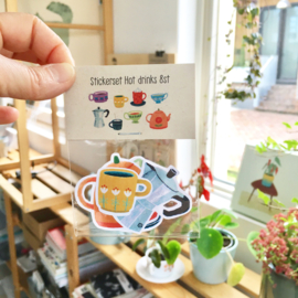 Stickerset | Hot drinks